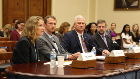 Kacey Ernst testifies